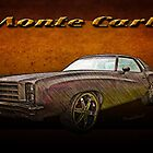 Chevy Monte Carlo Poster by ChasSinklier