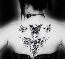 tattoo and corset by matthew ryan