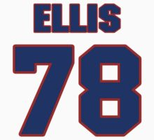 National football player Justin Ellis jersey 78 by imsport