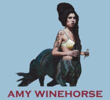 Amy Winehorse Plain Tee by AliceOK
