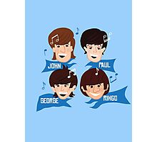 Fab Four Lads Photographic Print
