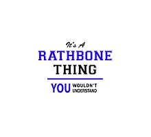 It's a RATHBONE thing, you wouldn't understand !! by thestarmaker
