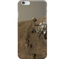 Mars Rover Curiosity Takes A Selfie - Planet Mars iPhone Case/Skin
