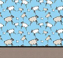 Sheep, sheep, sheep, time to sleep by mariakritzas