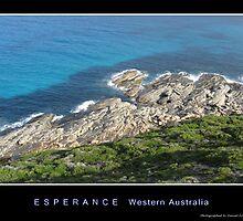 Esperance coastline by Daniel Fitzgerald