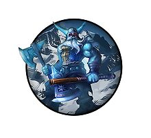 Glacial Olaf - League Of Legends by phenommachine