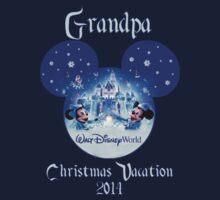 Blue Christmas Mickey & Minnie Disney Family Vacation ~Grandpa by sweetsisters