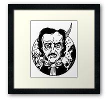 Poe Tee  Framed Print