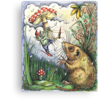 The Elf and the Dormouse Canvas Print
