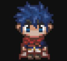 Pixel Ike - Fire Emblem : Path of Radiance by blindcoco