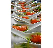 Hors d'œuvre - Smoked Salmon - Christchurch NZ Photographic Print