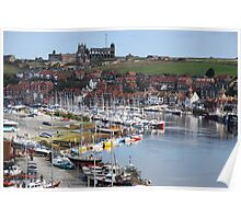 Whitby On A Calm Day Poster