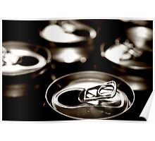 beer cans Poster