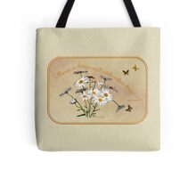 Younger Than Springtime ~ Daisies Tote Bag