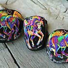 Rock'N'Ponies - POWER PONY I & FREE SPIRIT Ponies by louisegreen