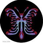 psychedelic butterfly by Dalton Sayre