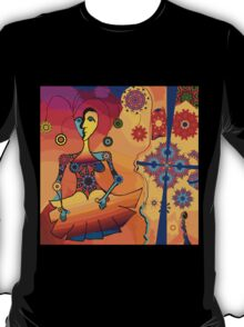 Girl With Kaleidoscope Eyes T-Shirt