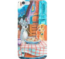 Disney Lady and The Tramp Tony's iPhone Case/Skin
