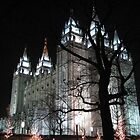 Salt Lake Temple by tetoncowgirl
