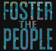 Foster the People- Supermodel Cutout T-Shirt