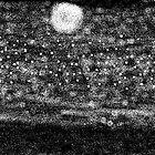 moonlit city by iridiscente