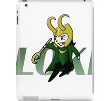Cute and Mischievous Loki iPad Case/Skin