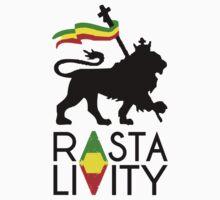 Rasta Livity BLK STK by JAHCultureINTL