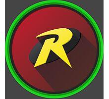 Robin - Logo V.01 Photographic Print