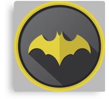 Batman Begins Logo Canvas Print