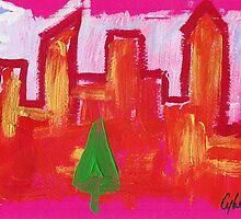 Winter in New York by Cybel Martin