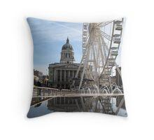 Nottingham Slab Square Throw Pillow