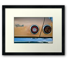 Chevrolet Framed Print