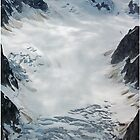 A glacier rushing nowhere fast by Laurens