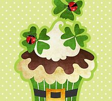 Saint Patrick's Day Cupcake by prettycritters