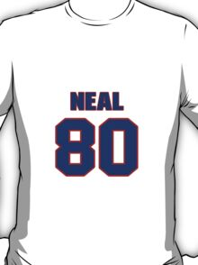 National football player Frankie Neal jersey 80 T-Shirt