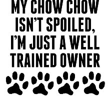 Well Trained Chow Chow Owner by kwg2200