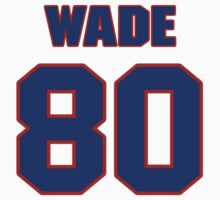 National football player Bobby Wade jersey 80 by imsport