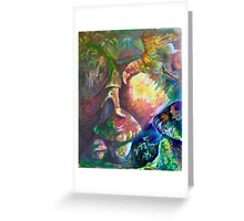 """Alpha Omega 14, """"Down to Earth"""" Greeting Card"""