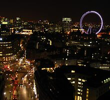 Night Falls on London by Meagan Miller-McKeever