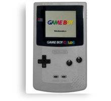 Gameboy for life Canvas Print