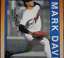 284 - Mark Davis by Foob's Baseball Cards