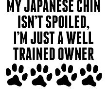 Well Trained Japanese Chin Owner by kwg2200