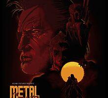 Metal Gear 80's Movie Poster by JoPru