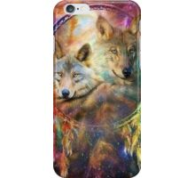 Rainbow Wolf Dreamcatcher iPhone Case/Skin