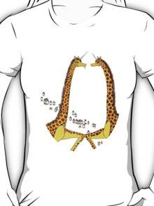 Uni-Giraffes Dancing T-Shirt