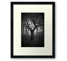 haunted tree Framed Print