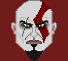 Legends of Gaming: Kratos by CaptainDeadman