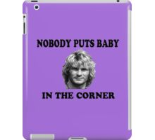 BODHI IN DIRTY DANCING iPad Case/Skin