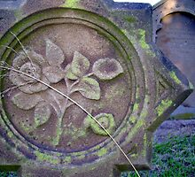 Floral Tombstone by reflector