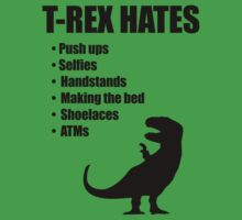 T-Rex Hates Bullet List by jezkemp